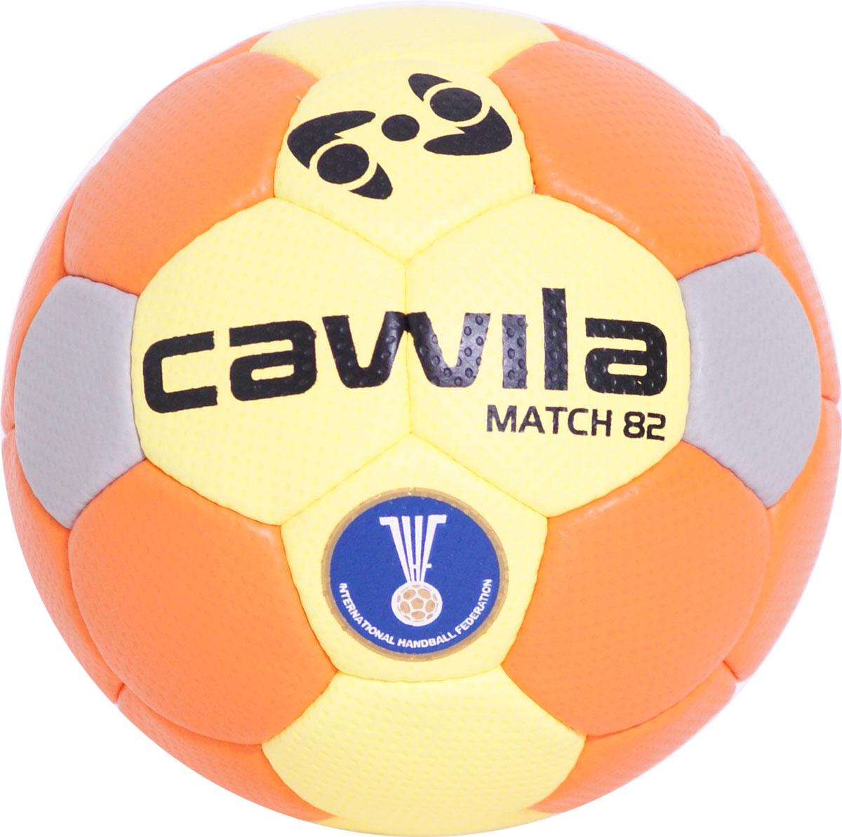 Image of   Cawila Handball Match 82 HF Orange / Gul - størrelse 3