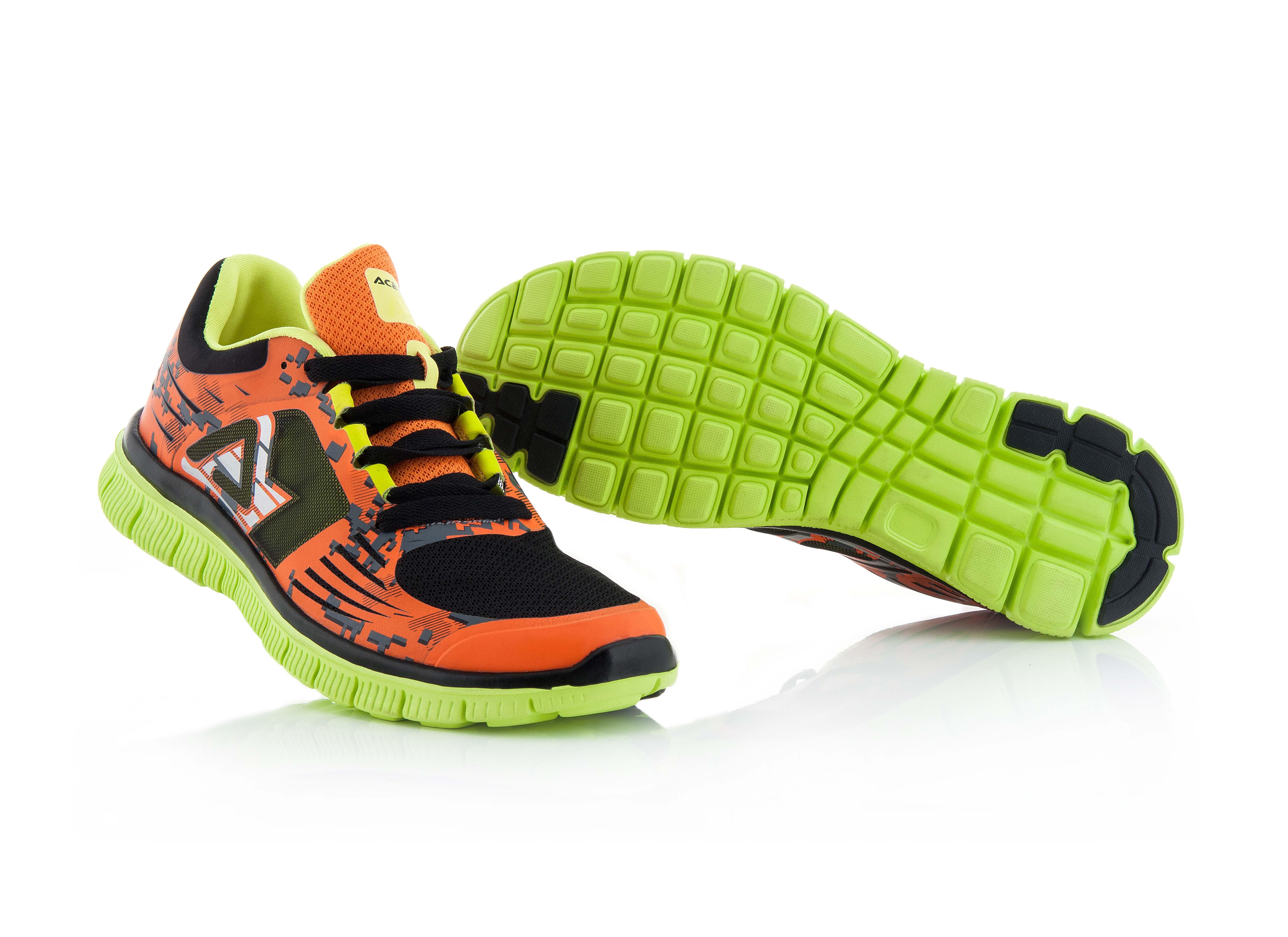 Image of   Acerbis Corporate Running sko - Orange / Sort - 45
