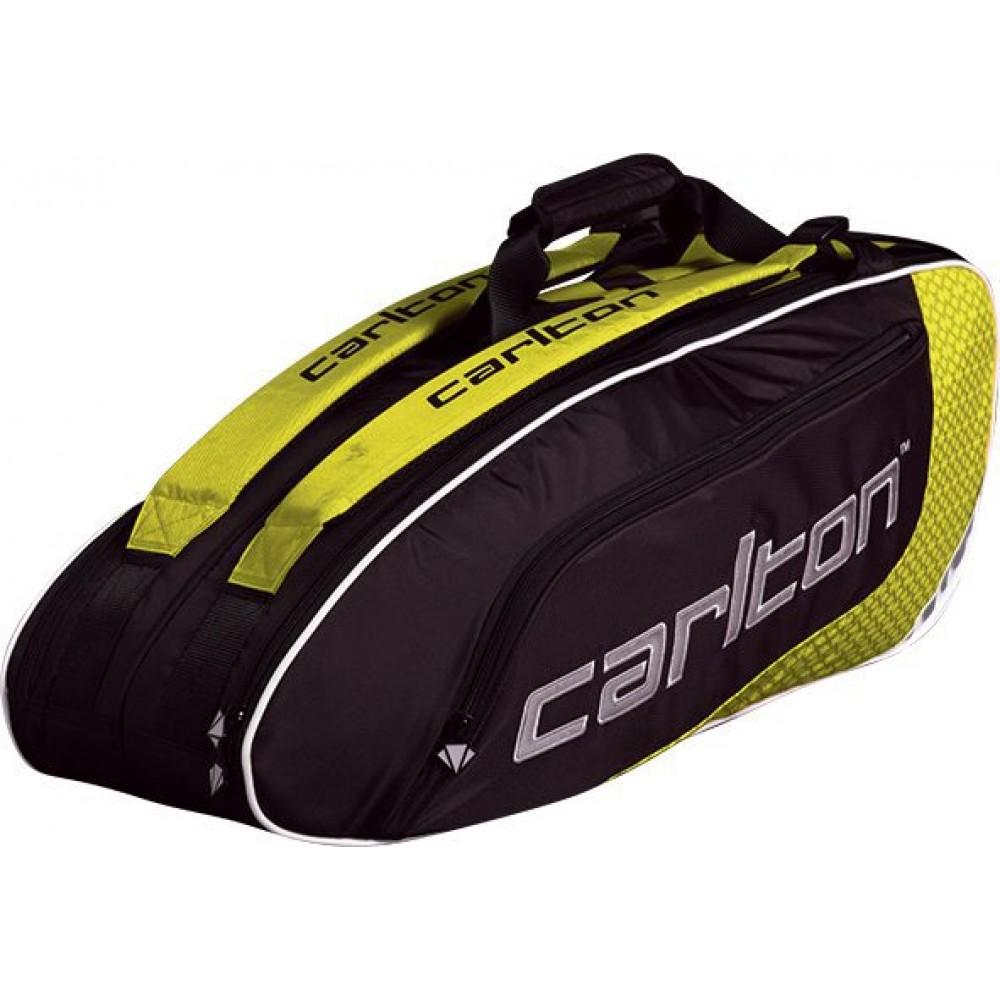 Image of   Carlton Pro Player Badminton Thermobag - 2 Rum - Gul