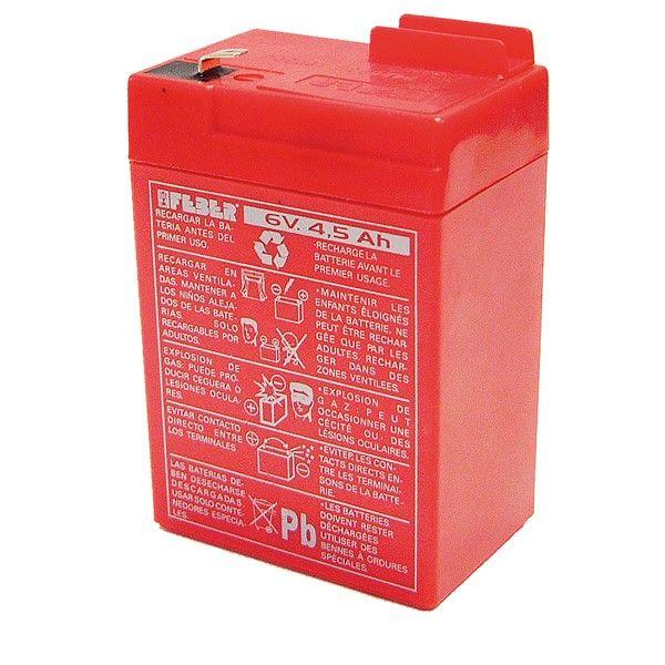 Image of   Feber Batteri 1X6V-4,5Ah