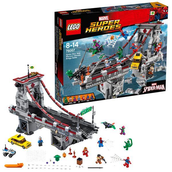 Lego 76057 Heroes Web Warrior