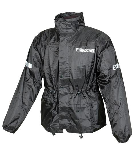 Image of   Booster Stream Raincoat - Black - M
