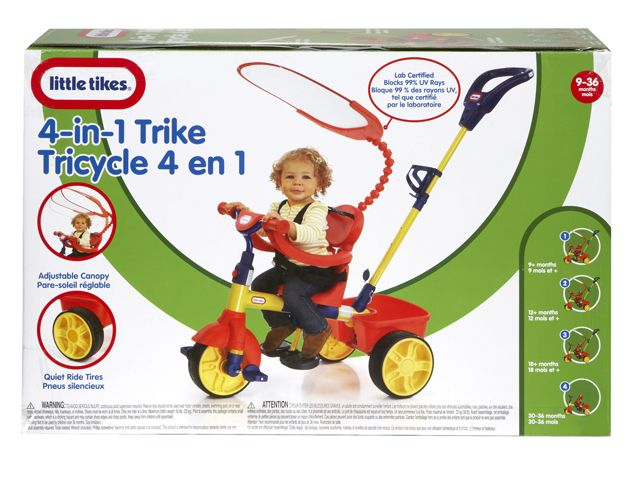 Image of   Little Tikes Trike 4in1 Primary