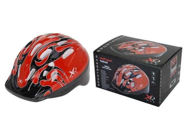 XQ Max cykelhjelm Boy Red_L