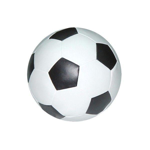 Summertime Voetbal Wit-Zwart 18cm