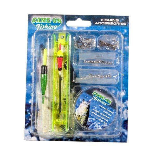 Game on Fishing Vis Accessoires Set