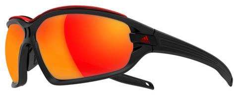 Adidas Evil Eye Evo Pro glasögon - Shiny vit-blå / grå-blå Mirror H