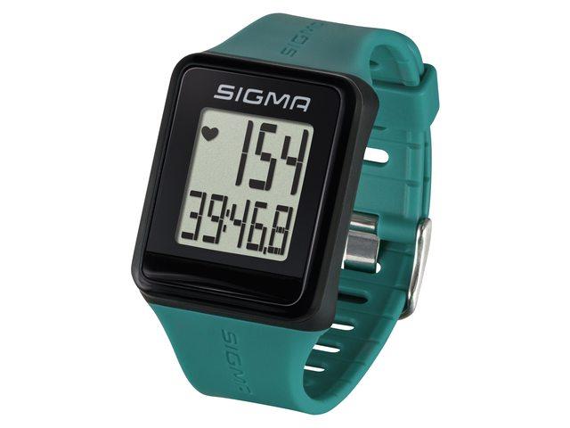 Image of   Sigma iD.GO Sports Watch - Black / Green