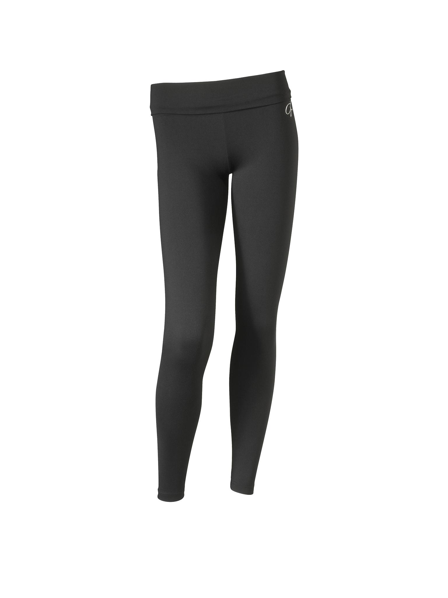 Papillon Legging Hoge Taille supplex Dames - Zwart
