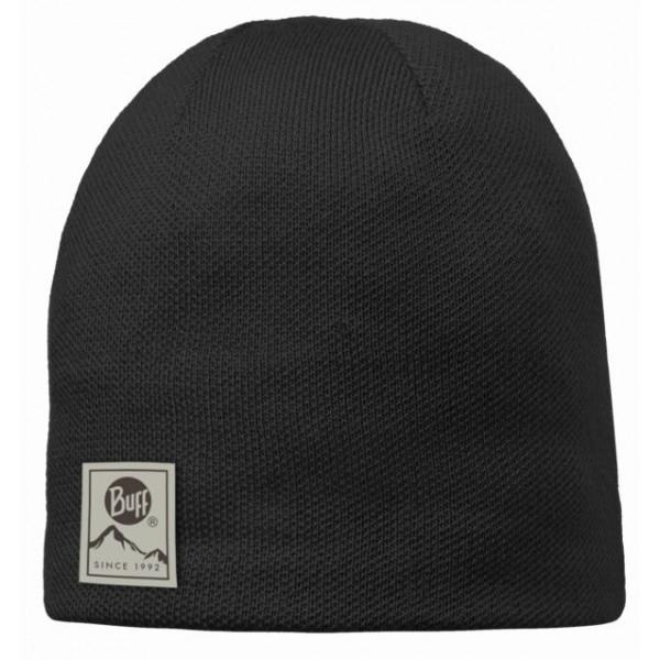 Image of   Buff Strikket & Polar Hat - Solid Sort