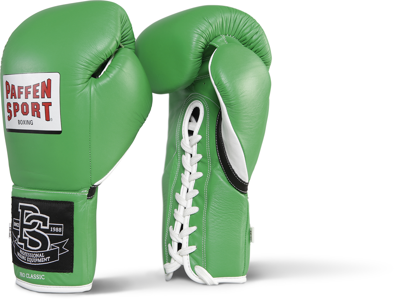Paffen Sport Pro Classic Bokshandschoenen - Groen - 10 oz