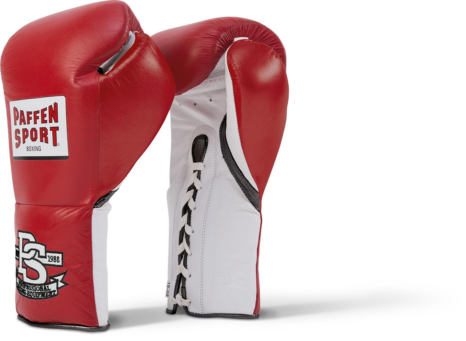 Paffen Sport Pro Mexican Bokshandschoenen - Rood / Wit / Zwart - 10 oz