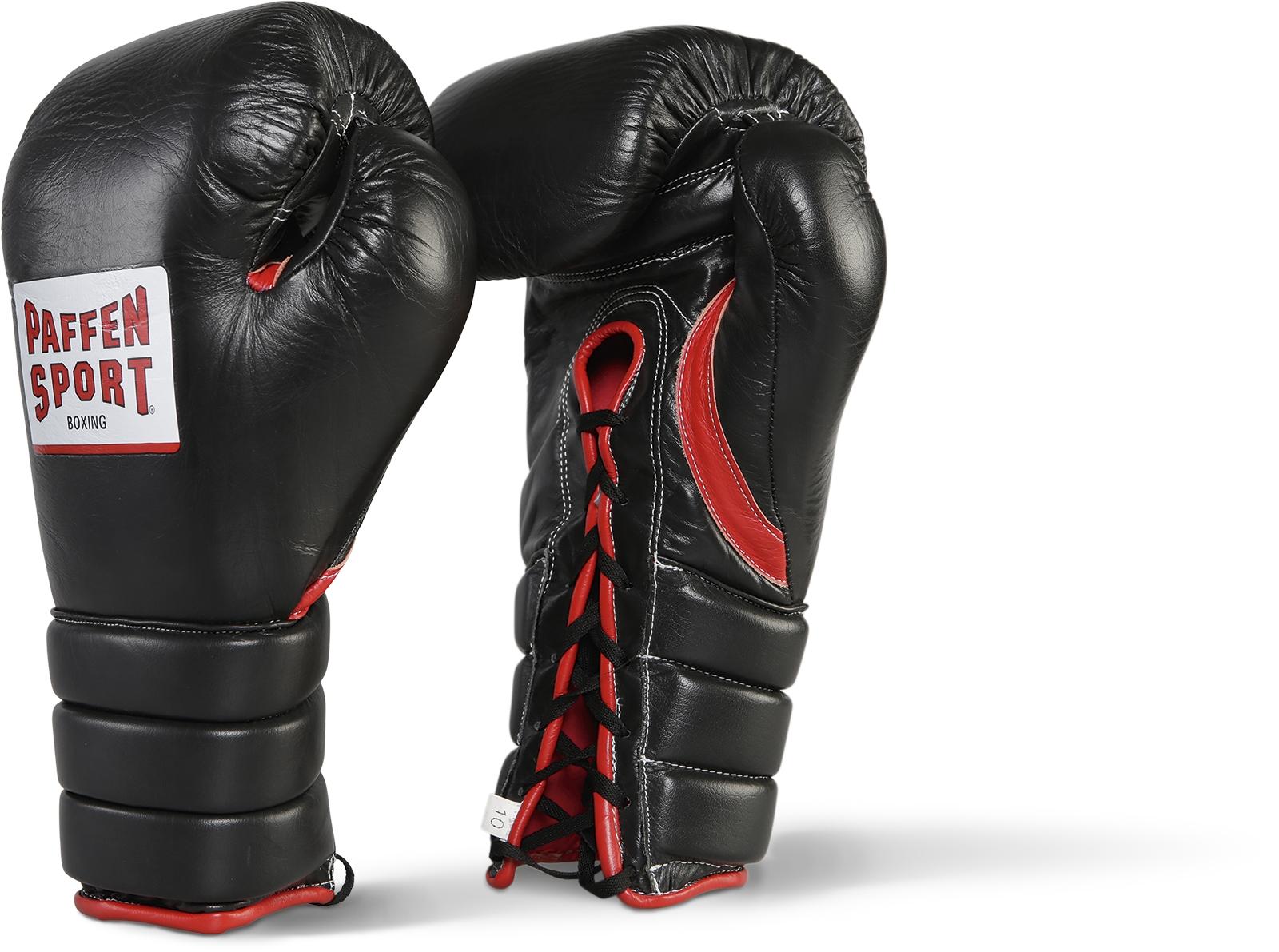 Paffen Sport Pro Guard Bokshandschoenen - Zwart / Rood - 8 oz