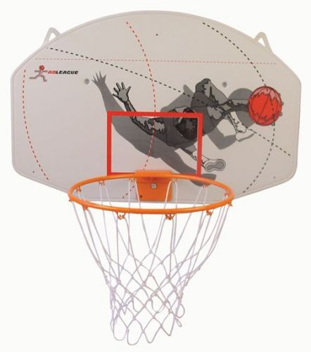 Image of   ABS Basketball Board med Ring - 90 x 60 x 1,6 cm