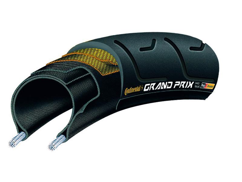 pneus Continental 26 650x28c 28-559 pliage grand prix polyxbreaker + piment noir composé noir