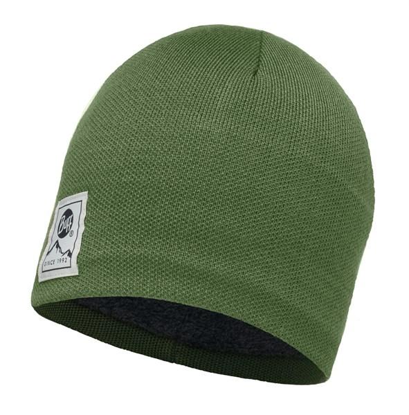 Image of   Buff Strikket & Polar Hat - Solid Forest