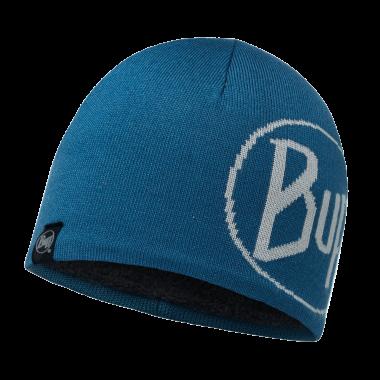 Image of   Buff Strikket & Polar Hat - Tech Logo Seaport