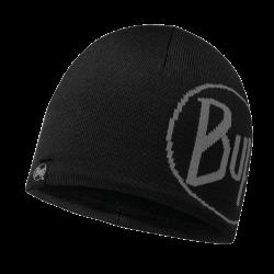 Image of   Buff Strikket & Polar Hat - Tech Logo Sort