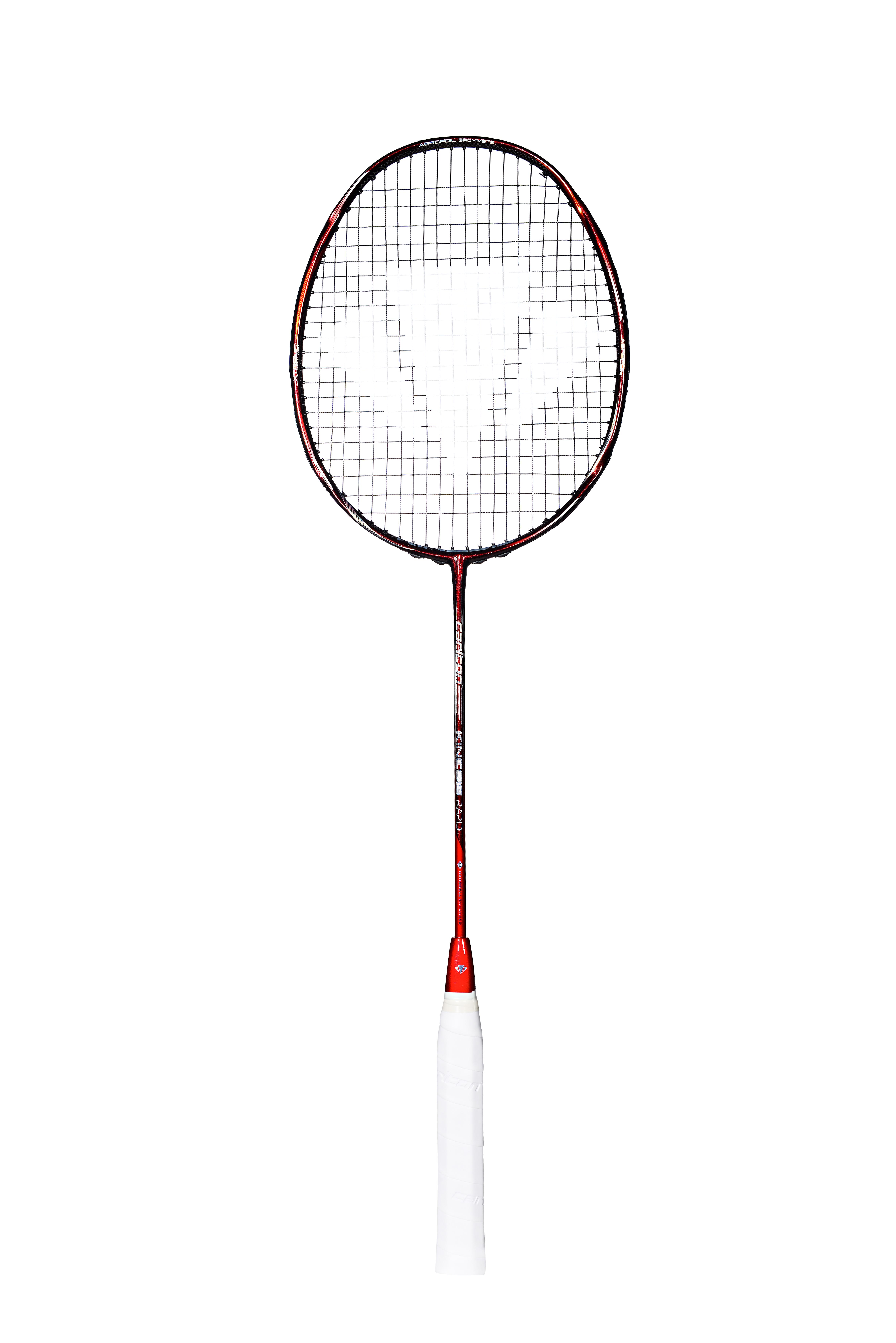 Image of   Carlton Kinesis Rapid Badminton ketcher - Rød / Silver