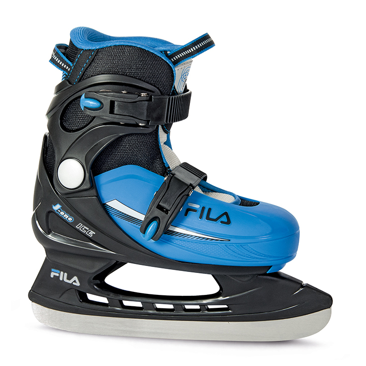 Image of   Fila J One Ice Hockey Skate Justerbar Boy - Sort / Blå - L
