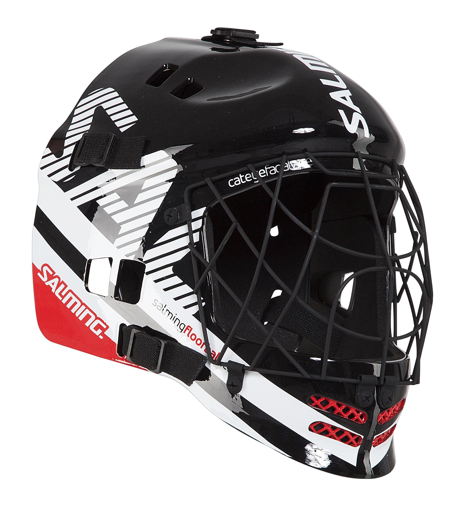Image of   Salming Core Helmet - One Size - Sort / Hvid