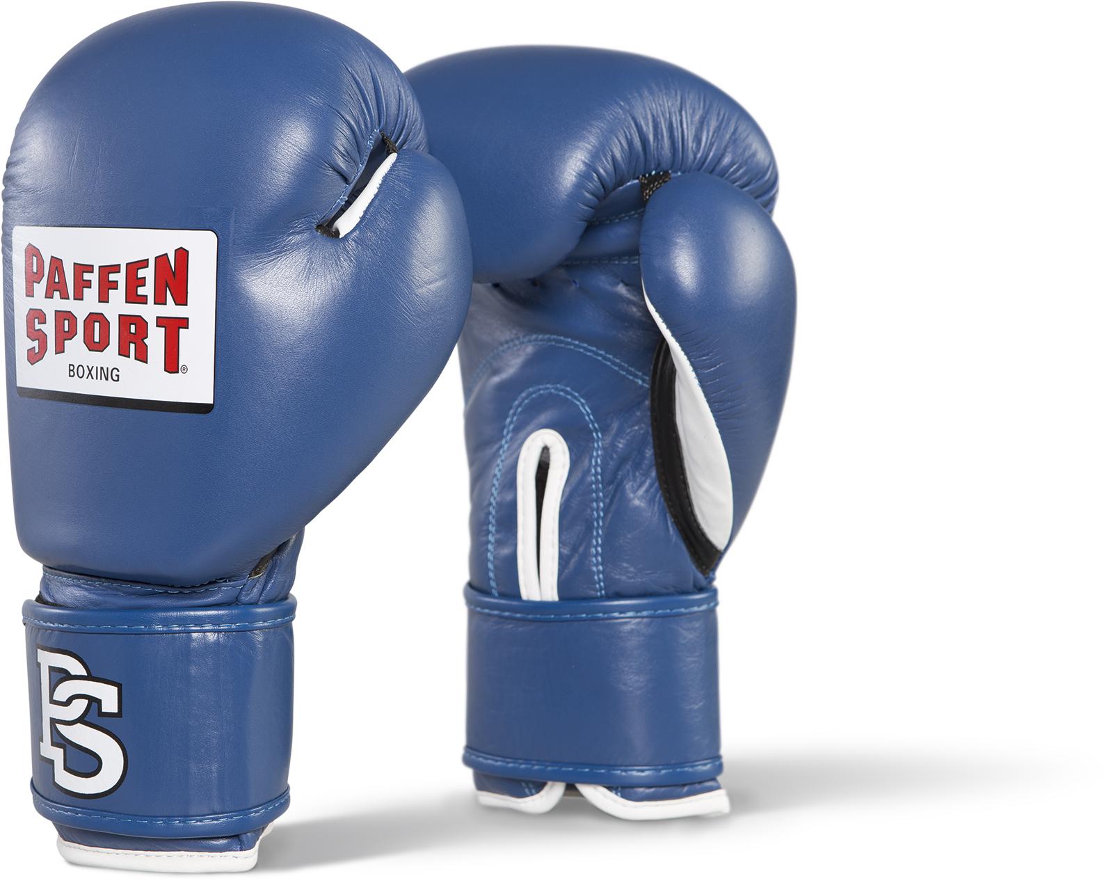 Paffen Sport Contest Bokshandschoenen - Met DBV Seal of Approval - - Blauw - 10 oz
