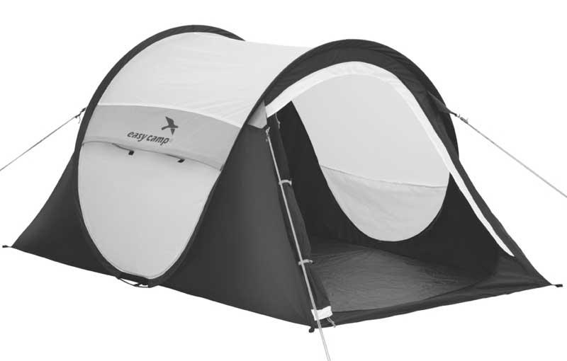 Easy Camp Funster Tent - Zwart - Wit