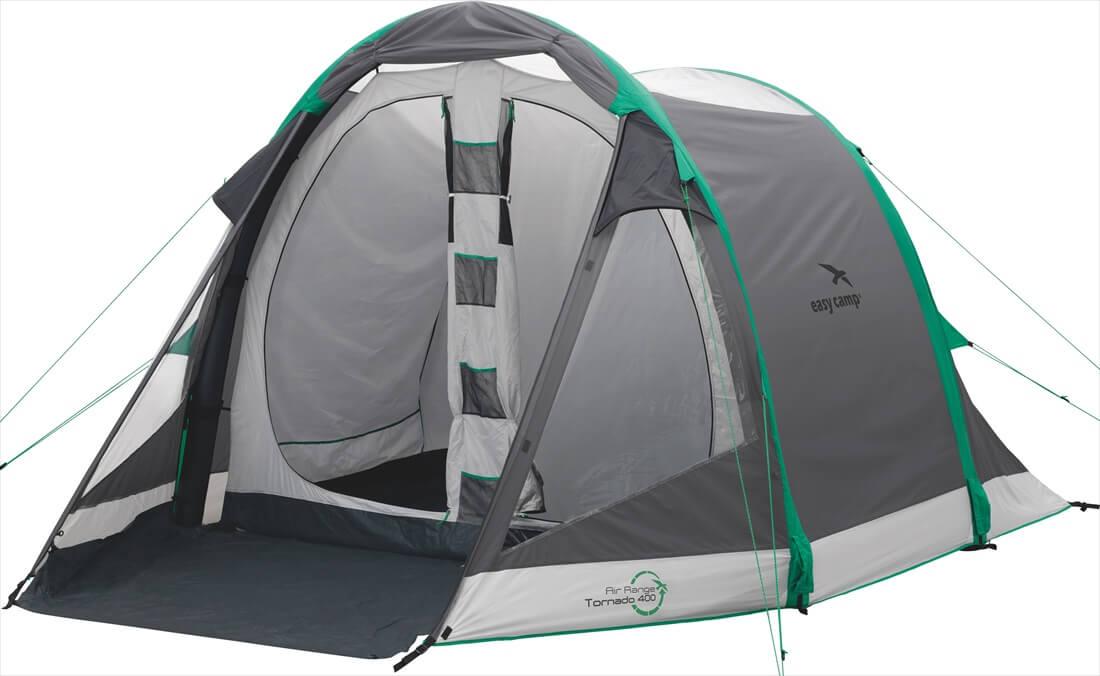 Image of   Easy Camp Tornado 400 Tent - Grey / Grøn