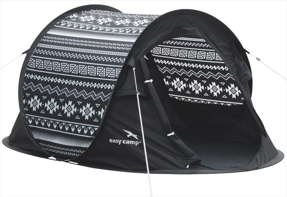 Easy Camp Antic Tribal Tent - Zwart - Wit