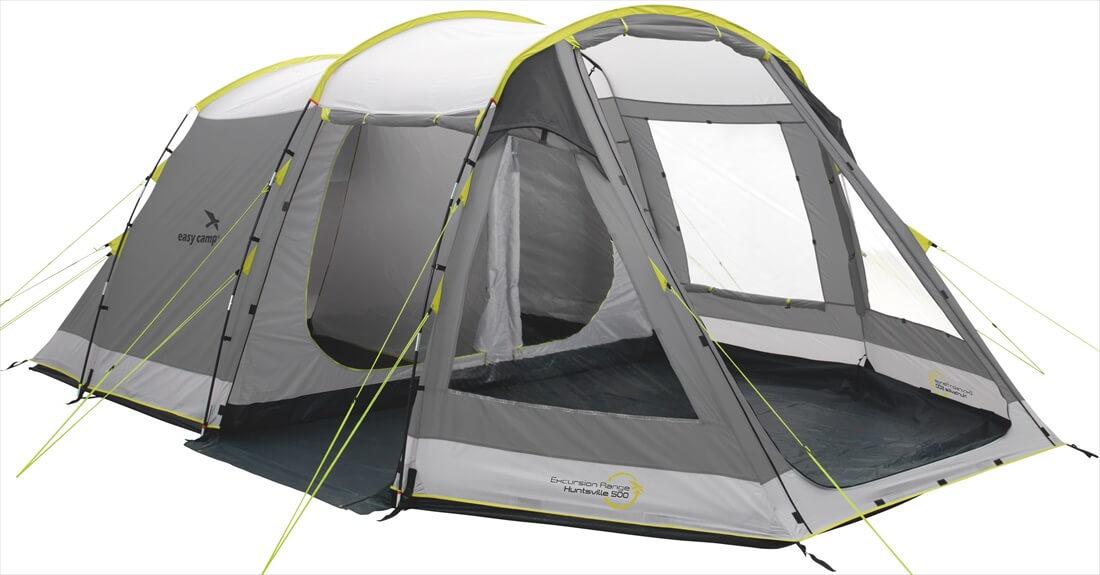 Image of   Easy Camp Huntsville 500 Tent - Grey / Gul
