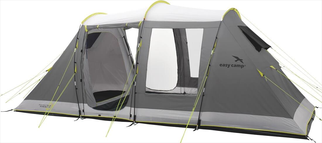 Image of   Easy Camp Huntsville Twin Tent - Grey / Gul