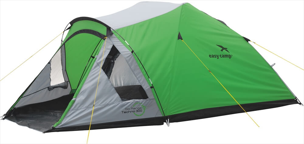 Image of   Easy Camp Techno 300 Tent - Grøn / Grey