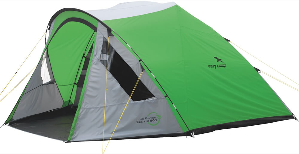 Image of   Easy Camp Techno 500 Tent - Grøn / Grey