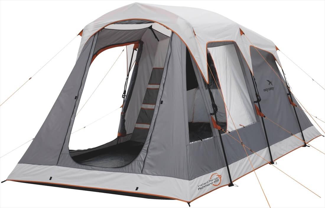 Image of   Easy Camp Richmond 400 Tent - Grey / Orange