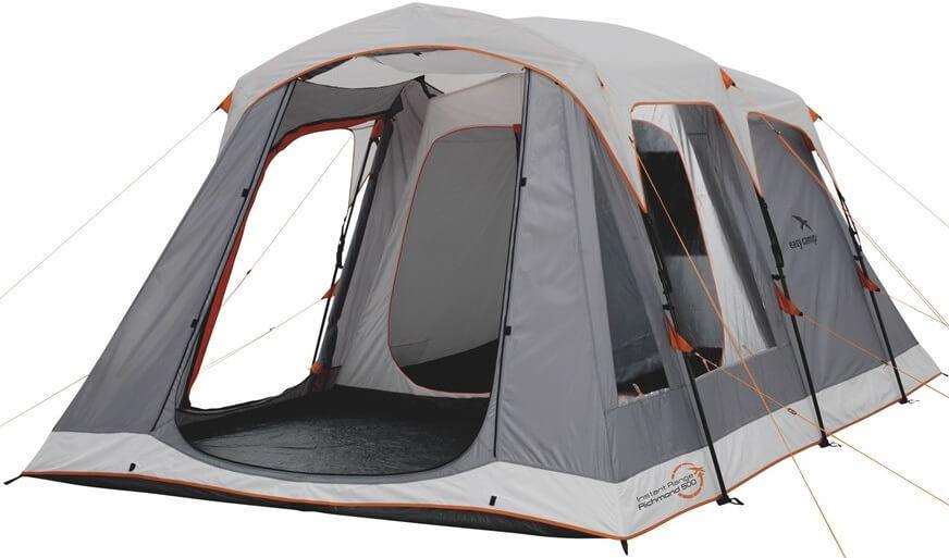 Image of   Easy Camp Richmond 500 Tent - Grey / Orange