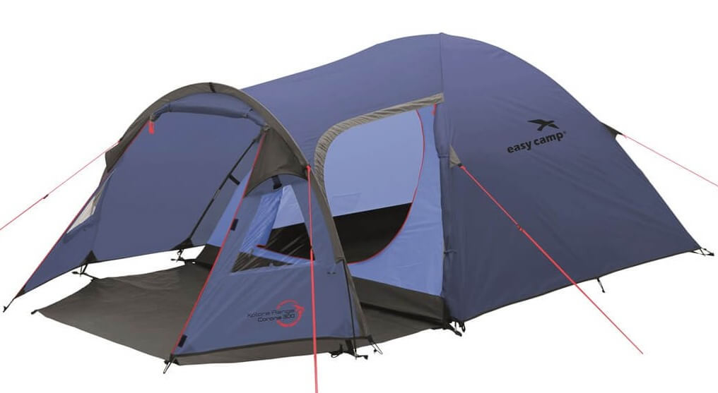 Image of   Easy Camp Corona 300 Tent - Blå
