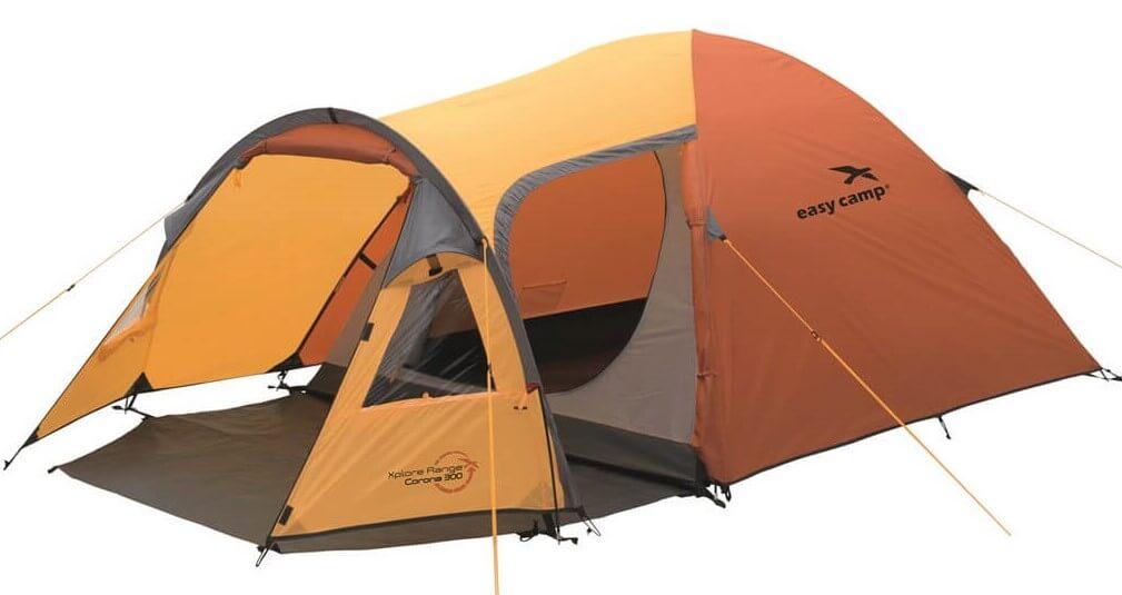Image of   Easy Camp Corona 300 Tent - Orange