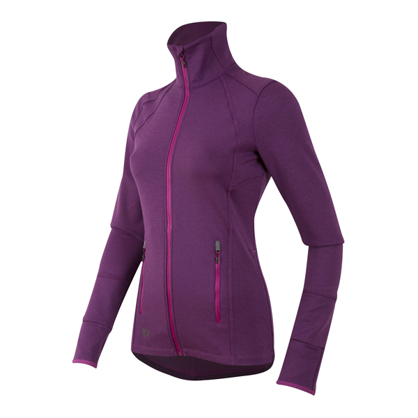 Image of   Pearl Izumi Escape Thermal Jersey Long Sleeve kvinnor - Lila vin - M
