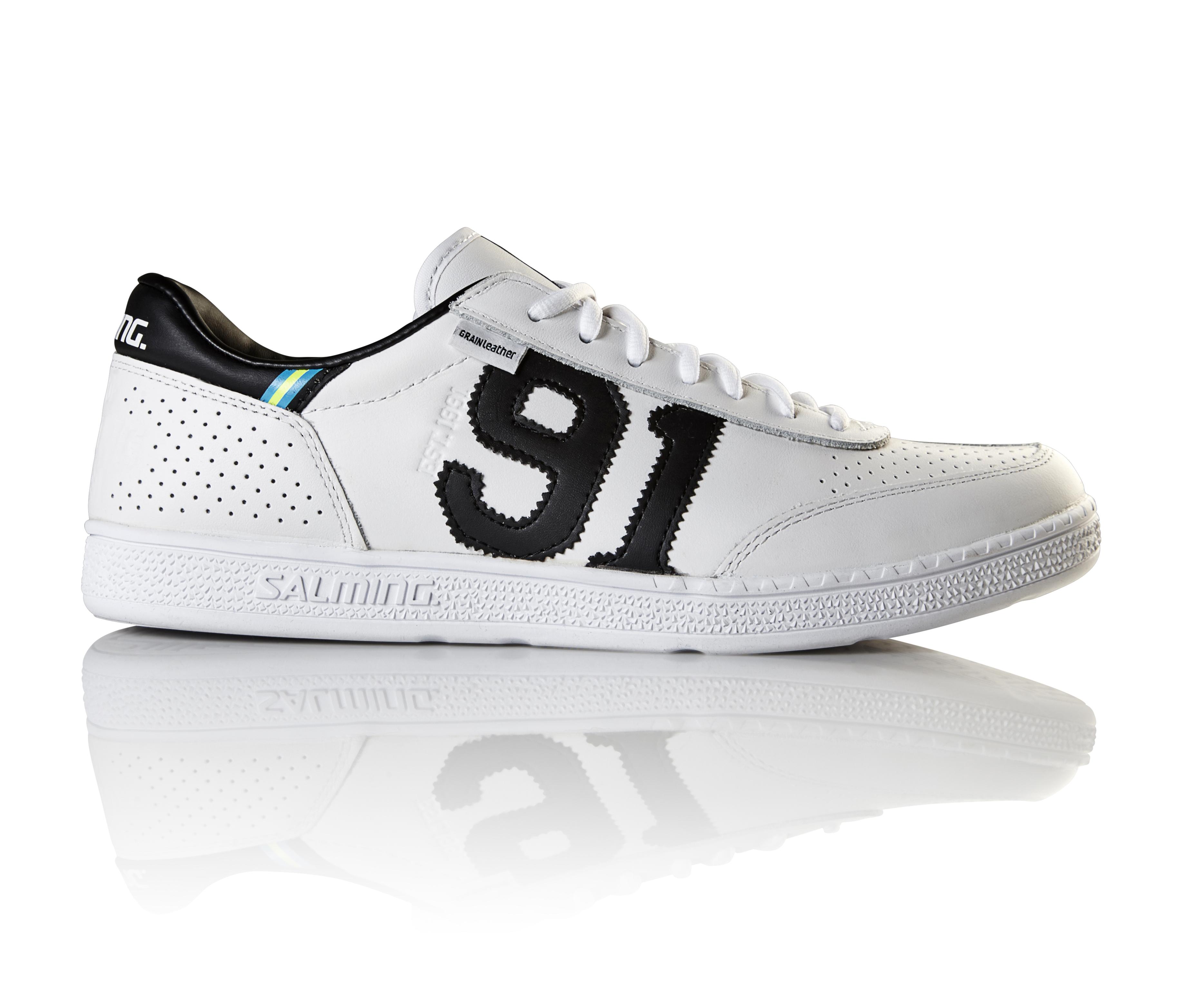 Image of   Salming NinetyOne Mænd Performance Sneakers Læder - White-41 1/3