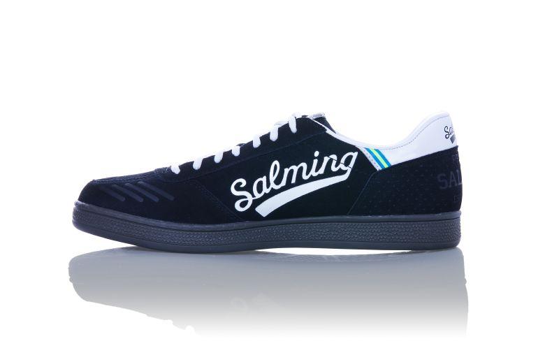 Image of   Salming NinetyOne Men Indoor Shoes - Black / White - 8,5