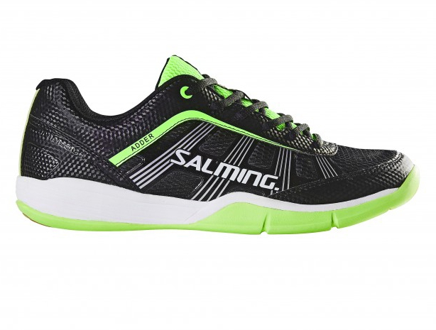 Image of   Salming Adder Men Indoor Shoes - Black / Green - 10