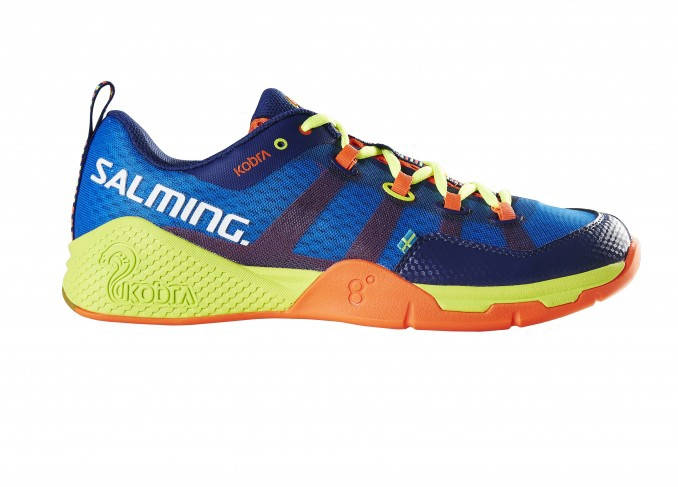 Image of   Salming Kobra Men Indoor Shoes - Royal / Yellow