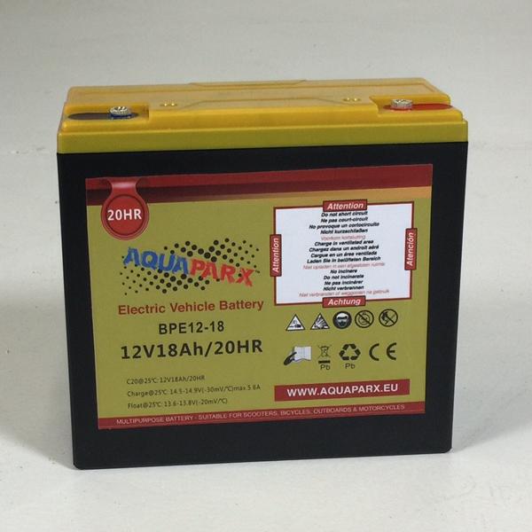 Image of   Aquaparx Batteri 12V / 18A