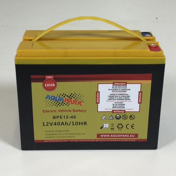 Image of   Aquaparx Batteri 12V / 40A