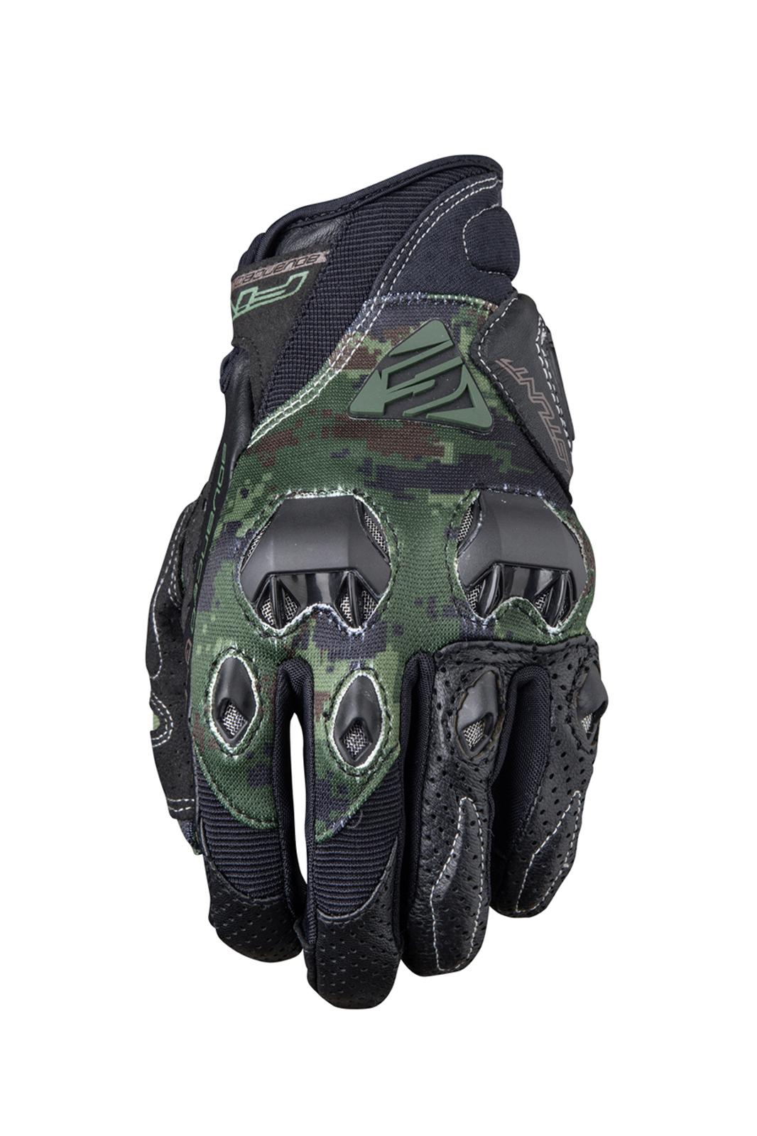 Five Stunt Evo Motorhandschoenen - Replica Army