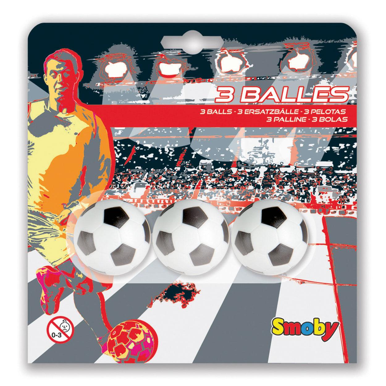 Image of   Smoby Foosball Balls - 3 stk