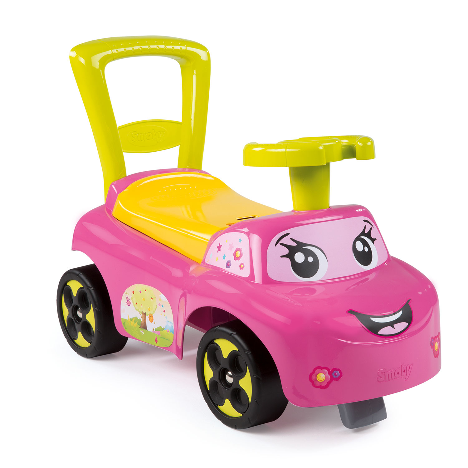 Image of   Smoby Ride On - Pink / Yellow