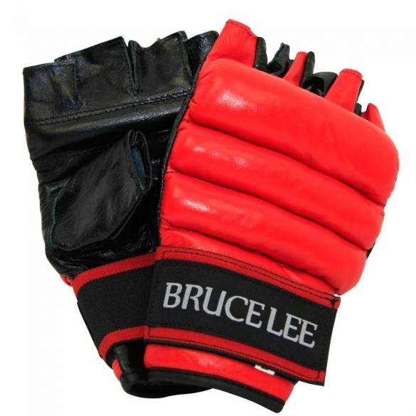 Bruce Lee Allround Free Fight / MMA Handschoenen - PU - S/M