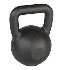 Marcy Kettlebell 16 kg Black