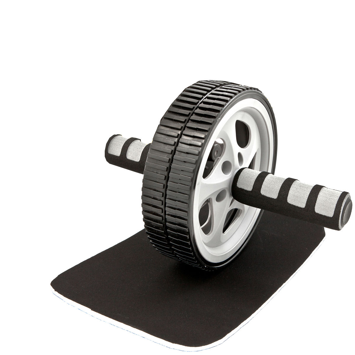 Tunturi-Bremshey Luxury Exercise Wheel With Kneepad Set